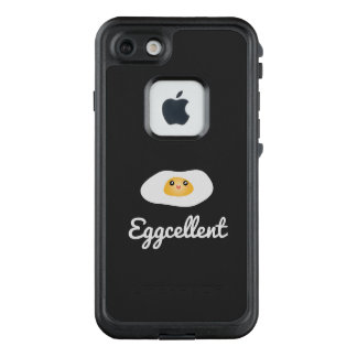 Funda FRÄ' De LifeProof Para iPhone 7 Retruécano chistoso de la comida de Eggcellent del