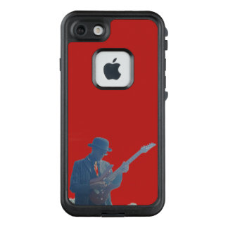 Funda FRÄ' De LifeProof Para iPhone 7 Silueta del guitarrista