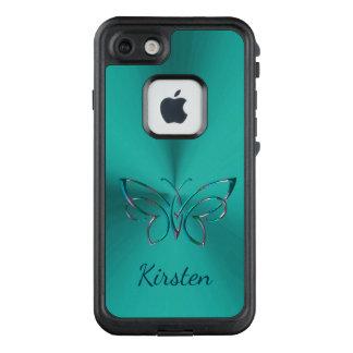 Funda FRÄ' De LifeProof Para iPhone 7 Trullo oscuro con la mariposa céltica