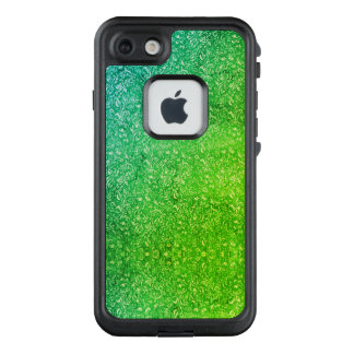 Funda FRÄ' De LifeProof Para iPhone 7 Vitalidad colorida brillante floral verde de neón