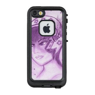 Funda FRÄ' De LifeProof Para iPhone SE/5/5s Aleta estrellada - púrpura