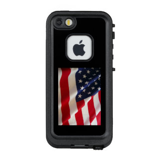 Funda FRÄ' De LifeProof Para iPhone SE/5/5s Bandera americana