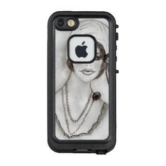 Funda FRÄ' De LifeProof Para iPhone SE/5/5s Chica moldeado de la aleta