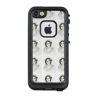 Funda FRÄ' De LifeProof Para iPhone SE/5/5s Chica rizado de la aleta