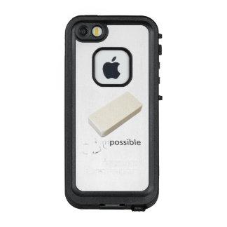 Funda FRÄ' De LifeProof Para iPhone SE/5/5s de motivación imposible