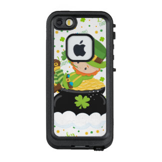 Funda FRÄ' De LifeProof Para iPhone SE/5/5s El Leprechaun del arroz del St