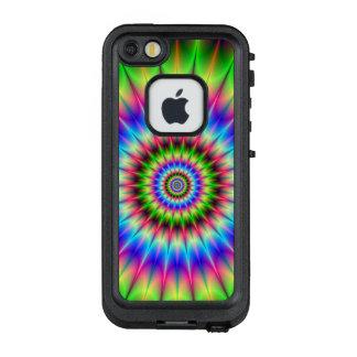 Funda FRÄ' De LifeProof Para iPhone SE/5/5s Explosión de punta del color