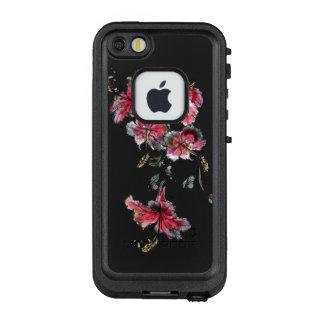Funda FRÄ' De LifeProof Para iPhone SE/5/5s Flores tropicales del hibisco