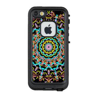 Funda FRÄ' De LifeProof Para iPhone SE/5/5s Flores y rueda de color de la cerámica