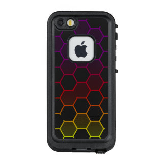 Funda FRÄ' De LifeProof Para iPhone SE/5/5s Maleficio del color con gris