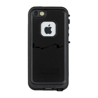 Funda FRÄ' De LifeProof Para iPhone SE/5/5s Minimalism - blanco y negro