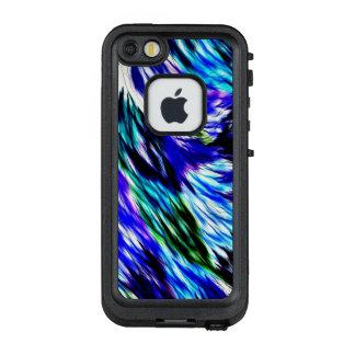 Funda FRÄ' De LifeProof Para iPhone SE/5/5s Modelo púrpura blanco abstracto hermoso del verde