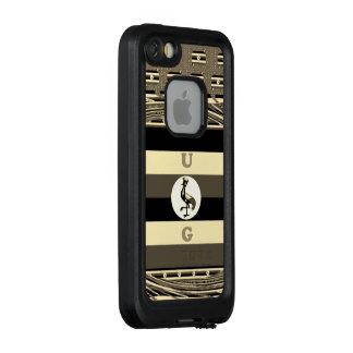 Funda FRÄ' De LifeProof Para iPhone SE/5/5s Niza diseño precioso con monograma precioso lindo