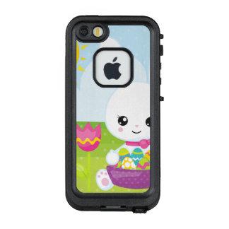 Funda FRÄ' De LifeProof Para iPhone SE/5/5s Pequeño conejito de pascua lindo