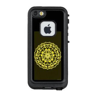 Funda FRÄ' De LifeProof Para iPhone SE/5/5s Rueda de color amarilla de la flor