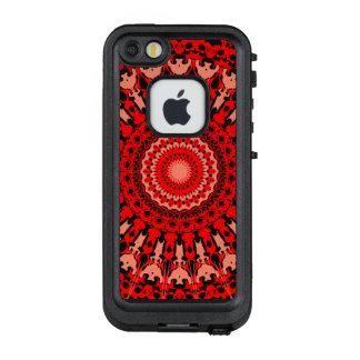 Funda FRÄ' De LifeProof Para iPhone SE/5/5s Rueda de color compleja del amor del vino rojo
