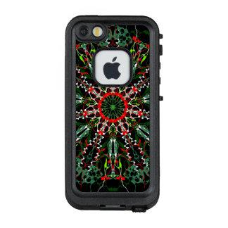 Funda FRÄ' De LifeProof Para iPhone SE/5/5s Rueda de color de la celebración del navidad