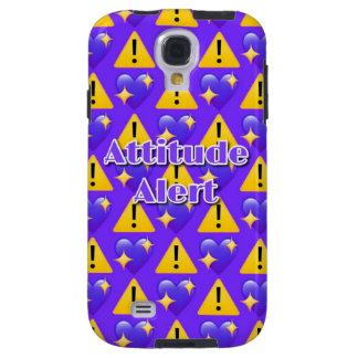 Funda Galaxy S4 Caja (púrpura) alerta de la galaxia S4 de Samsung