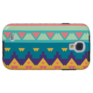 Funda Galaxy S4 Diseño tribal en colores pastel
