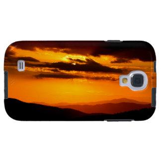 Funda Galaxy S4 Foto hermosa de la puesta del sol