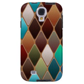 Funda Galaxy S4 Mosaico del diamante del trullo