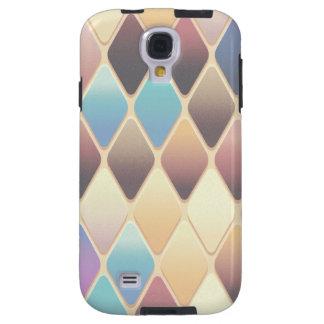 Funda Galaxy S4 Mosaico en colores pastel del diamante