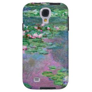 Funda Galaxy S4 Reflexiones de la charca del lirio de agua