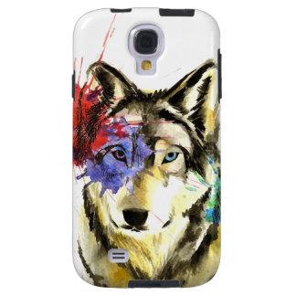 Funda Galaxy S4 Salpicadura del lobo
