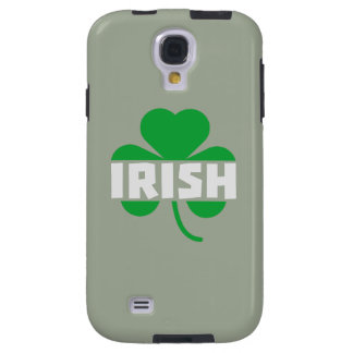 Funda Galaxy S4 Trébol irlandés Z2n9r del cloverleaf
