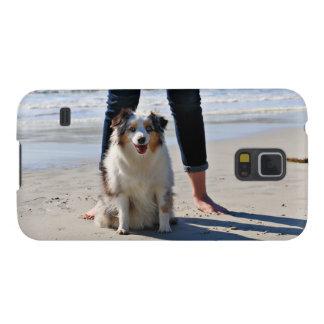 Funda Galaxy S5 Bennett - mini australiano - Rosie - playa de