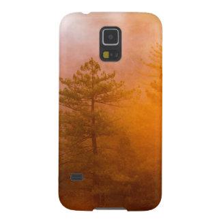 Funda Galaxy S5 Bosque de oro de la correhuela