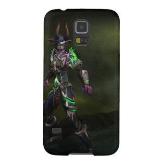Funda Galaxy S5 caja de la galaxia S5 de Samsung del cazador del