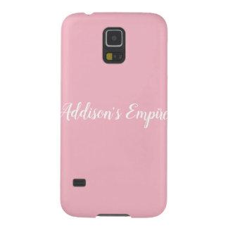 Funda Galaxy S5 Caja del teléfono del imperio de Addison