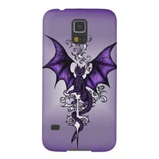 Funda Galaxy S5 Dragón del ornamento