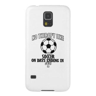 Funda Galaxy S5 El tender y diseños impresionantes del fútbol