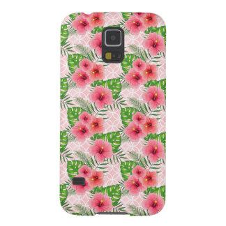 Funda Galaxy S5 Flores del hibisco