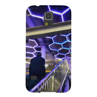 Funda Galaxy S5 La estación de metro de la calle de Bleecker