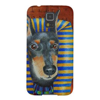 Funda Galaxy S5 Manchester Terrier Egyption Pharoah