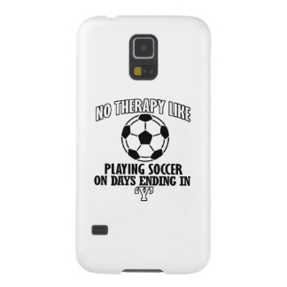 Funda Galaxy S5 Tender diseños frescos del fútbol