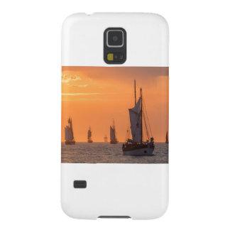 Funda Galaxy S5 Windjammer en luz de la puesta del sol