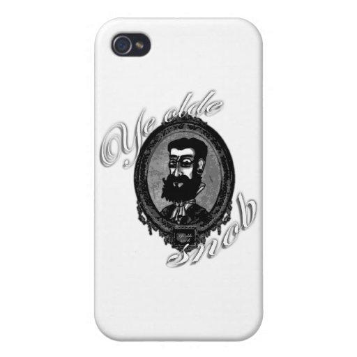 Funda iPhone 4 - Ye Olde Snob iPhone 4 Protectores