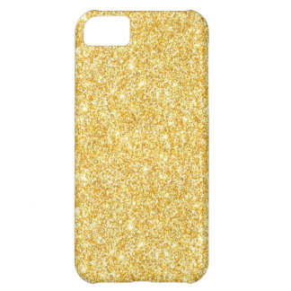 Funda iPhone 5C Caso de moda del iPhone 5C del purpurina moderno