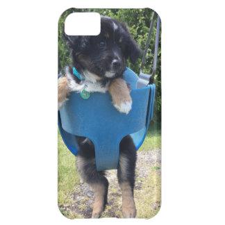 Funda iPhone 5C El caso más lindo del iPhone del perrito