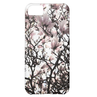 Funda iPhone 5C La primavera florece caja floral del teléfono