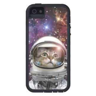 Funda iPhone SE/5/5s Astronauta del gato - gato loco - gato