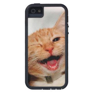 Funda iPhone SE/5/5s Gato que guiña - gato anaranjado - los gatos