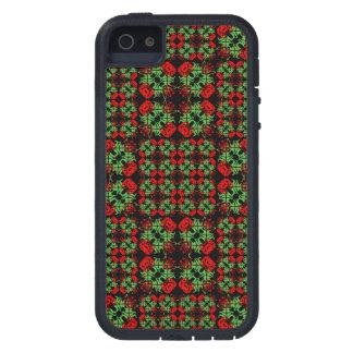 Funda iPhone SE/5/5s Modelo adornado asiático del remiendo