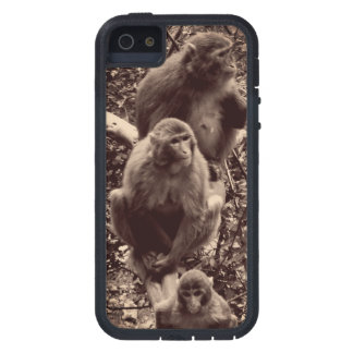 Funda iPhone SE/5/5s Tres monos