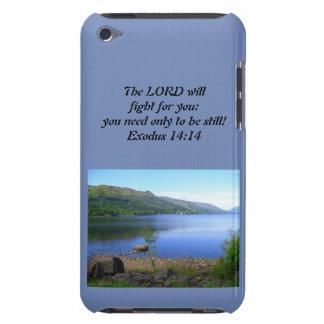 Funda iPod 14:14 del éxodo del caso de Iphone cristiano o de