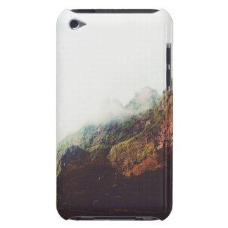 Funda iPod Montañas brumosas, escena de relajación del